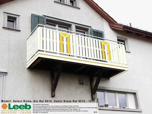 prospera balkonbau balkone z une in alu u holz. Black Bedroom Furniture Sets. Home Design Ideas